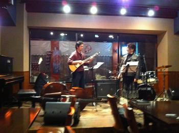 20121107 西川サトシさんと@fifteen.jpg